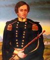 Gen. Stephen Watts Kearny portrait at New Mexico History Museum. Santa Fe, NM.