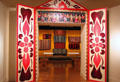 Gallery of Folk Arts of the Andes at Museum of International Folk Art. Santa Fe, NM.