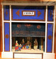Miniature theater at Museum of International Folk Art. Santa Fe, NM.