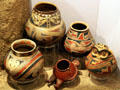 Casa Grandes native pottery collection at Maxwell Museum of Anthropology. Albuquerque, NM.