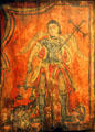 St. Michael Archangel retablo by Antonio Molleno at Millicent Rogers Museum. Taos, NM.
