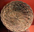 Santo Domingo Pueblo willow basket by Steven Archuleta at Millicent Rogers Museum. Taos, NM.