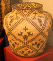 Apache Olla basket at Millicent Rogers Museum. Taos, NM.