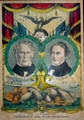 Election poster for Zachary Taylor & Millard Fillmore, Whig party. East Aurora, NY.