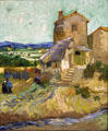 Old Mill painting by Vincent van Gogh at Albright-Knox Art Gallery. Buffalo, NY.