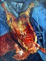 Carcass of Beef painting by Chaim Soutine at Albright-Knox Art Gallery. Buffalo, NY.
