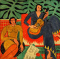La Musique painting by Henri Matisse at Albright-Knox Art Gallery. Buffalo, NY.