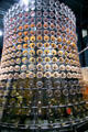 Tower made of 680 Corningware casseroles at Corning Museum of Glass. Corning, NY.