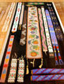Sioux & other Native American beaded arm & head bands at Rockwell Museum of Art. Corning, NY.