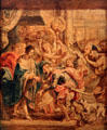 Reconciliation of King Henry III & Henry of Navarre painting by Peter Paul Rubens at Memorial Art Gallery. Rochester, NY.