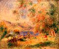 Near Cagnes painting by Pierre-Auguste Renoir at Memorial Art Gallery. Rochester, NY.