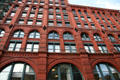 Facade of Puck Building of NYU. New York, NY.