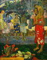 La Orana Maria painting by Paul Gauguin at Metropolitan Museum of Art. New York, NY.