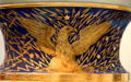 Eagle detail on Century Vase by Karl L.H. Müller of Union Porcelain Works at Brooklyn Museum. Brooklyn, NY.