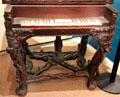 Piano case made of tree roots by Antonio Meucci at his house, now Garibaldi-Meucci Museum. Staten Island, NY.
