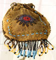 Beaded bag made by Princess Pocahontas Pharaoh at Montauk Lighthouse museum. Montauk, NY.