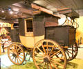 Tally-Ho sporting coach by Holland & Holland of London, England at carriage collection of Long Island Museum. Stony Brook, NY.
