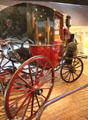 Chariot d'Orsay by Million & Guiet of France at carriage collection of Long Island Museum. Stony Brook, NY.