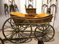 American pleasure wagon at carriage collection of Long Island Museum. Stony Brook, NY.