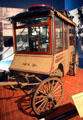 Popcorn wagon by C. Cretors & Co. of Chicago, IL like model first used at Chicago World's Fair at carriage collection of Long Island Museum. Stony Brook, NY.