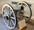 Speaker cannon captured in Cuba by Rough Riders at Old Orchard Museum at Sagamore Hill NHS. Cove Neck, NY.