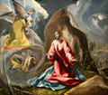 Agony in the Garden painting by El Greco at Toledo Museum of Art. Toledo, OH.