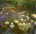 Water Lilies painting by Claude Monet by at Toledo Museum of Art. Toledo, OH.