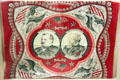 Grover Cleveland & Allen G. Thurman printed campaign handkerchief. Fremont, OH.