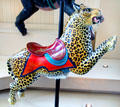 Carousel leopard by Philadelphia Toboggan Co. at Merry-Go-Round Museum. Sandusky, OH.
