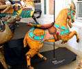 Coney Island style carousel Goat by Charles Looff at Merry-Go-Round Museum. Sandusky, OH.
