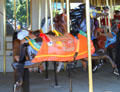 Carousel horses by Daniel Muller now at Cedar Point. Sandusky, OH.