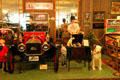 Variety of collectables on display at Canton Classic Car Museum. Canton, OH.