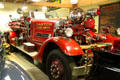 Ahrens-Fox Piston Pumper Model I-T from Cincinnati, OH, used by Canton Fire Dept., at Canton Classic Car Museum. Canton, OH.