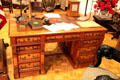 Partner's desk used at White House by President McKinley at William McKinley Presidential Museum & Library. Canton, OH.