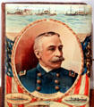 Album cover photo of Admiral Dewey, hero of the Spanish American War at William McKinley Presidential Museum & Library. Canton, OH.
