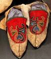Eastern woodland culture moccasins at Johnston Farm Museum. Piqua, OH.