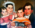 Portrait of Hamilton Utley Family by William Lawrence Utley at Cleveland History Center. Cleveland, OH.