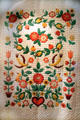 Applique quilt by Beulah Fisher of Cleveland, Ohio at Cleveland History Center. Cleveland, OH