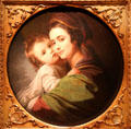 Elizabeth Serwell West & artist's son Raphael portrait by Benjamin West at Cleveland Museum of Art. Cleveland, OH.