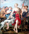 Diana & Her Nymphs Departing for the Hunt by Peter Paul Rubens at Cleveland Museum of Art. Cleveland, OH.