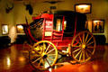 Concord stage coach at Woolaroc Museum. Bartlesville, OK.