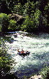 Rafting on Rogue River in Oregon. OR.