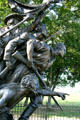 Details of North Carolina monument at Gettysburg National Military Park. Gettysburg, PA.