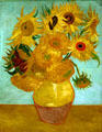 Sunflowers by Vincent van Gogh at Philadelphia Museum of Art. Philadelphia, PA