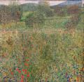 Orchard painting by Gustav Klimt at Carnegie Museum of Art. Pittsburgh, PA.