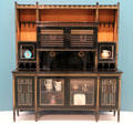 Cabinet by Christopher Dresser of Britain at Carnegie Museum of Art. Pittsburgh, PA.