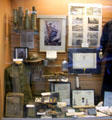 Collection of objects from WWI & WWII at Museum of Work & Culture. Woonsocket, RI.