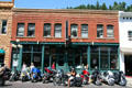 M.B. Wilson Building now Wild Bill's Steak House in building showing its bordello past. Deadwood, SD.