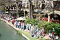 Paseo del Rio or Riverwalk by WPA. San Antonio, TX.