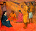 Sister of Charity painting by Paul Gauguin at McNay Art Museum. San Antonio, TX.